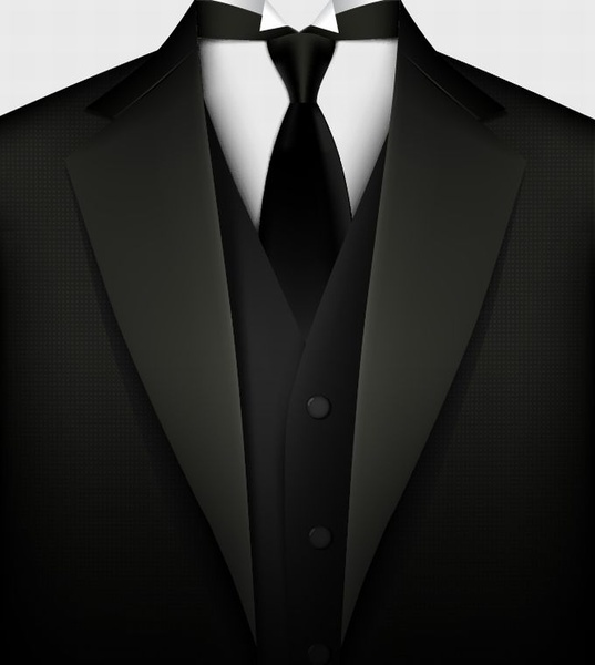 537x600 Black Suit Vector Free Vector In Encapsulated Postscript Eps