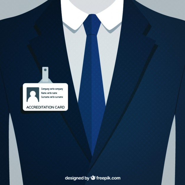 626x626 Businessman Suit Vector Premium Download