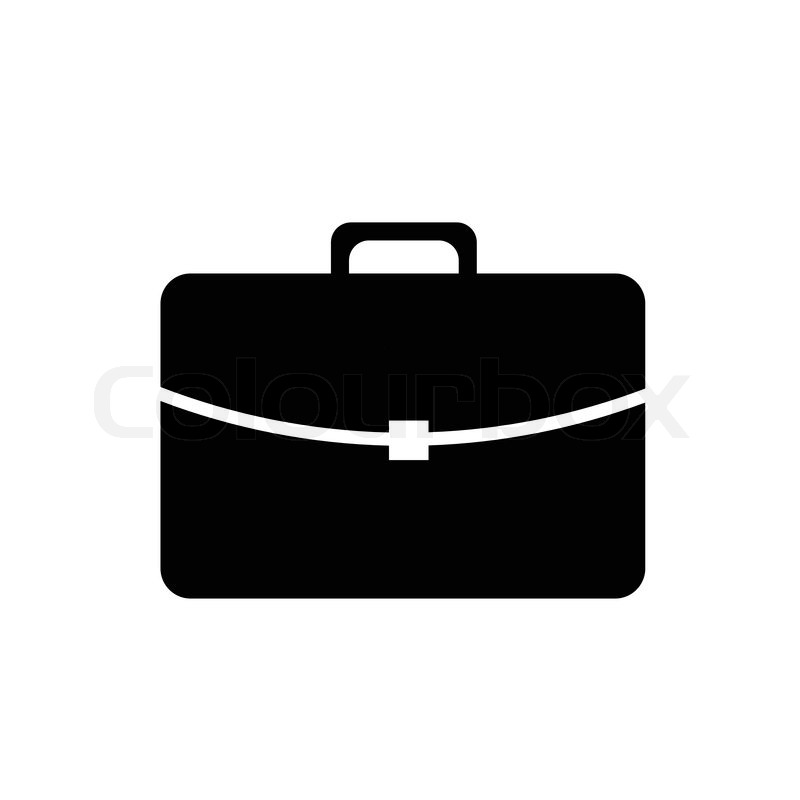 800x800 Simple Vector Pictogram Icon Of A Suitcase Stock Vector Colourbox