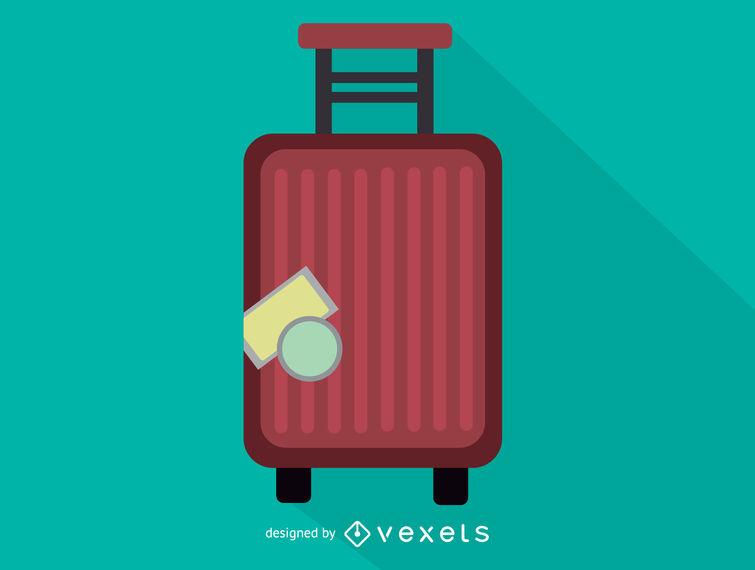 755x570 Trolley Case Luggage Icon