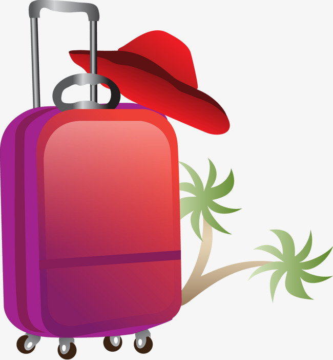 650x701 Travel Luggage Suitcase Vector, Travel Vector, Trunk, Baggage Png