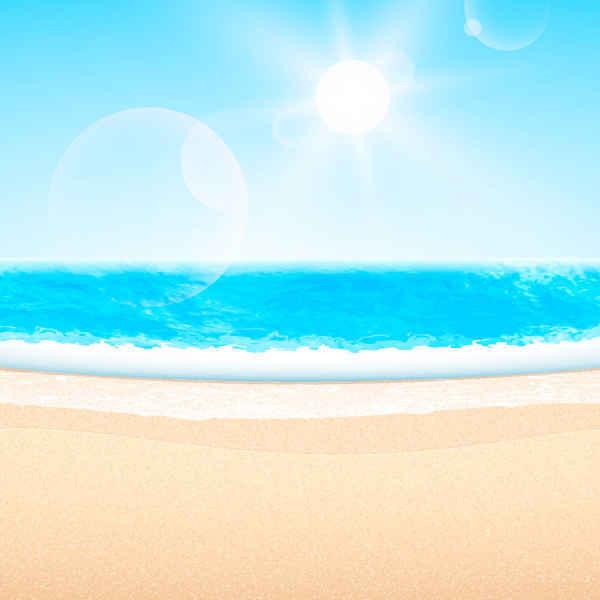 600x600 Free Summer Beach Themed Psd Files, Vectors Amp Graphics