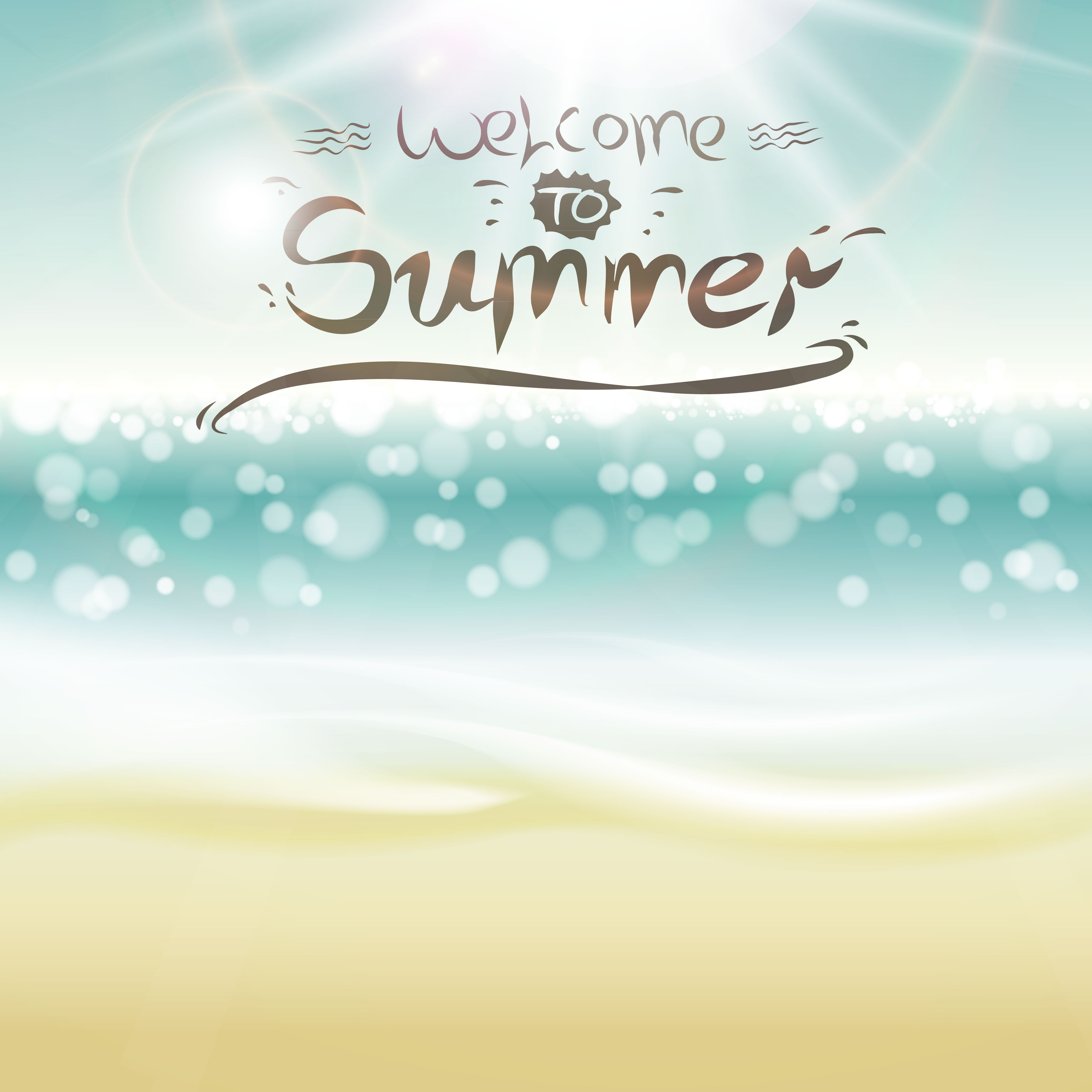 4000x4000 Summer Backgrounds With Light Vector Dot 01 Free Download