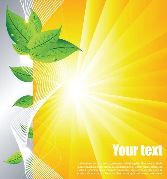 558x600 Summer Background Vector 2 Free Vector In Encapsulated Postscript