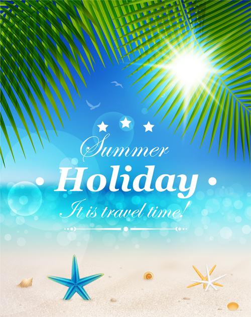 500x631 Summer Holiday Design Elements Vector Set 02 Free Download
