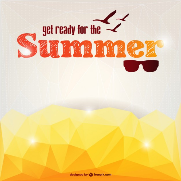 626x626 Vector Summer Abstract Style Vector Free Vector Download In .ai