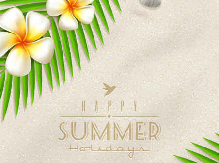 452x336 Beautiful Summer Vector Background003 Free Vector Background