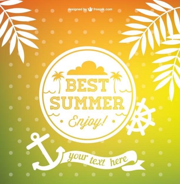 612x626 Best Summer Vector Vector Free Download