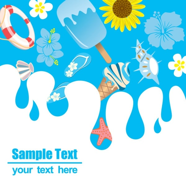 600x569 Cartoon Summer Pictures 05 Vector Free Vector In Encapsulated