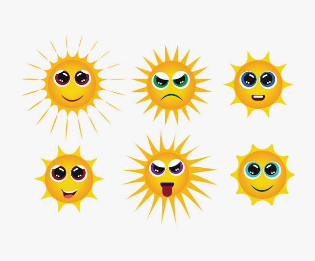 650x538 Smiley Sun Face Group, Sun Clipart, Face Clipart, Vector Png And