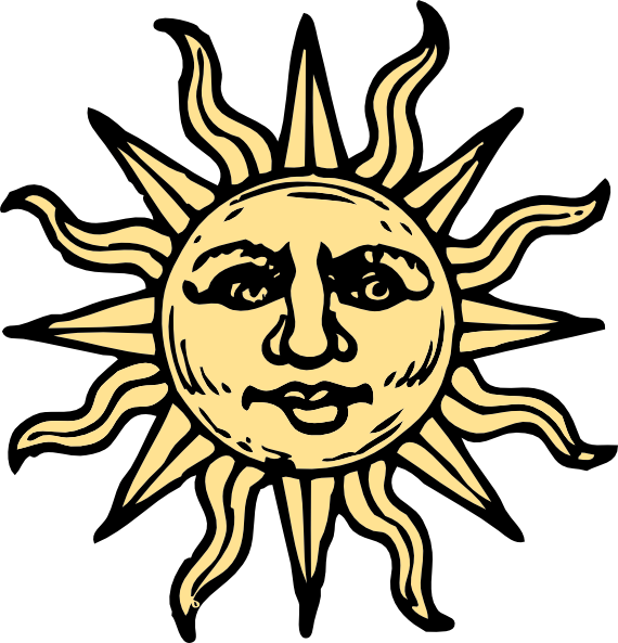 570x593 Sun Face Freeuse Library
