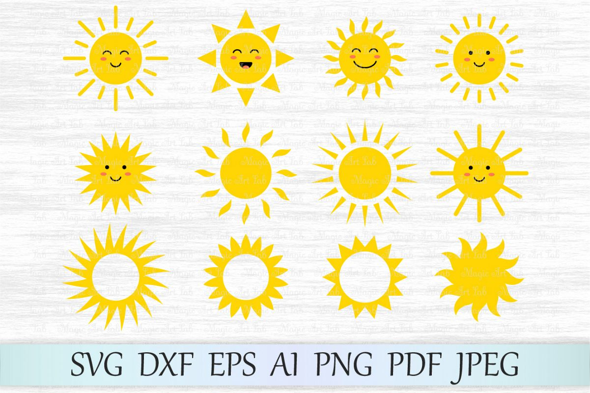 1201x800 Sun Svg, Sun Clipart, Cute Sun Svg File, Sun Face Svg, Sun Vector