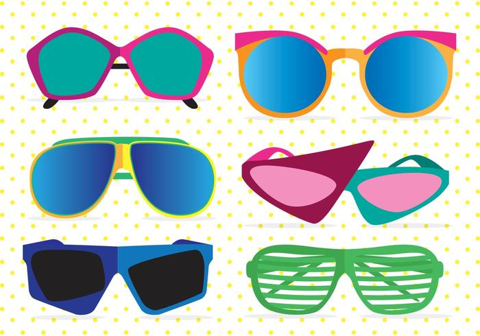 Sun Glasses Vector Free