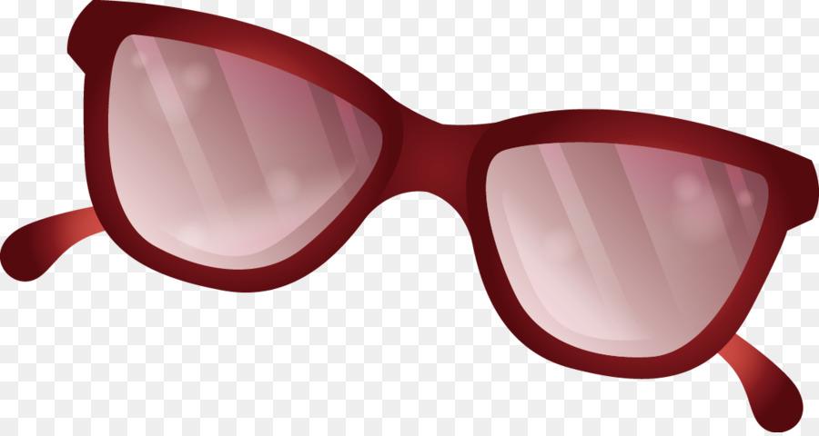 900x480 Goggles Sunglasses Red