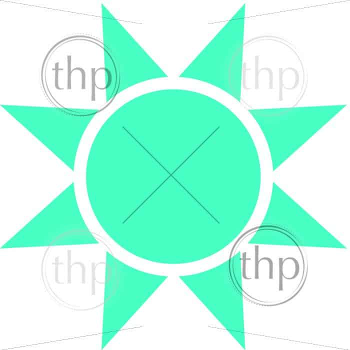 700x700 Simple Sun Icon In Simple Flat Vector Photo