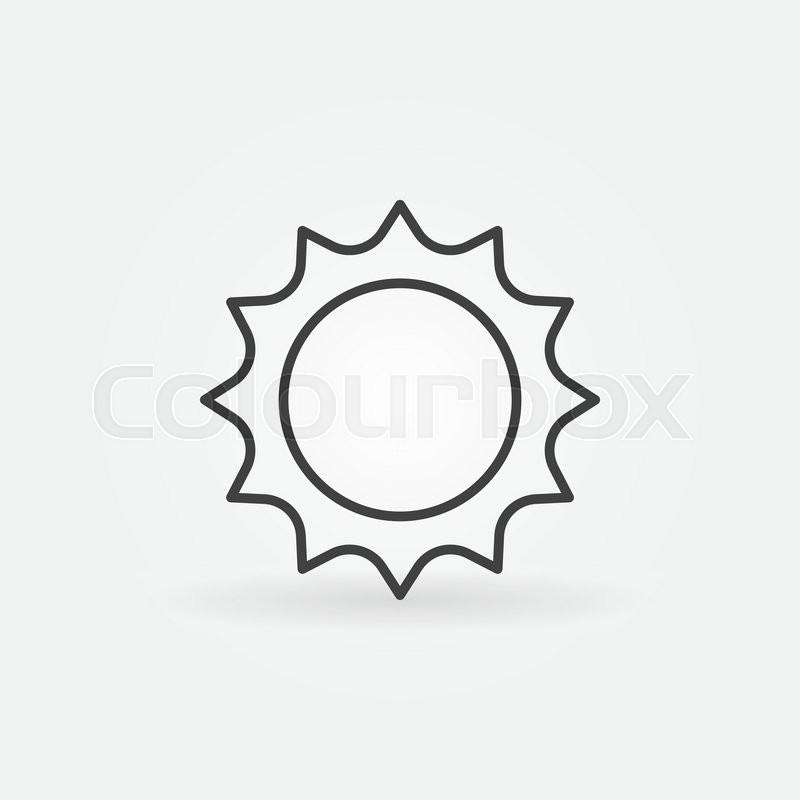 800x800 Abstract Sun Icon