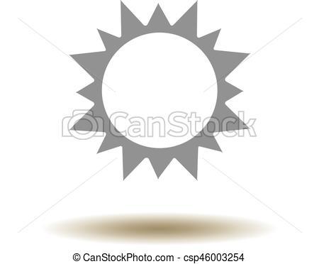 450x372 Vector Sun Icon.