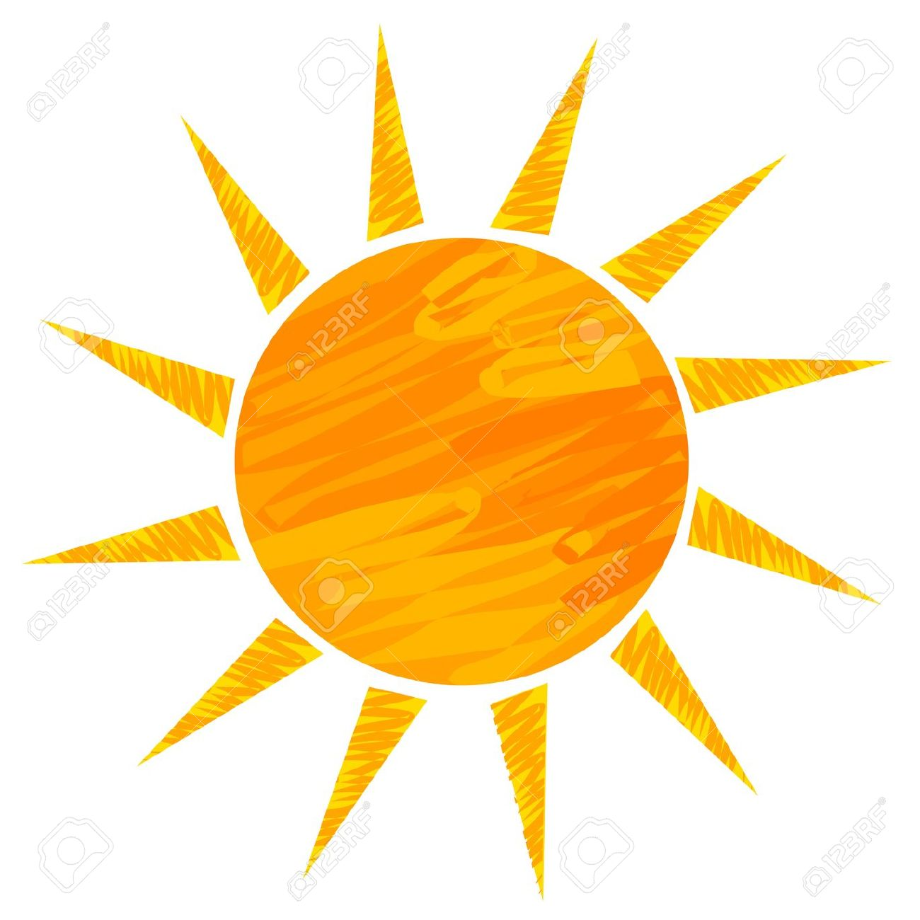 1300x1300 15027388 Sun Drawing Vector Illustration Stock Vector Sun Sunshine