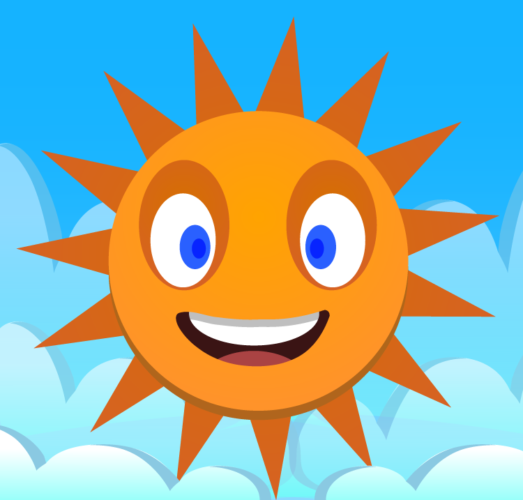750x717 Create A Happy Sun Vector In Adobe Illustrator