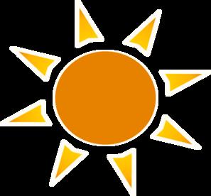 297x276 Sun Logo Clip Art