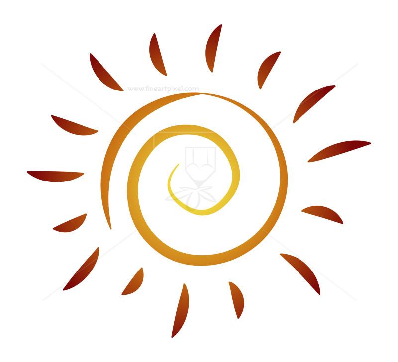 800x728 Sun Logo Vector Illustration Free Vectors, Illustrations