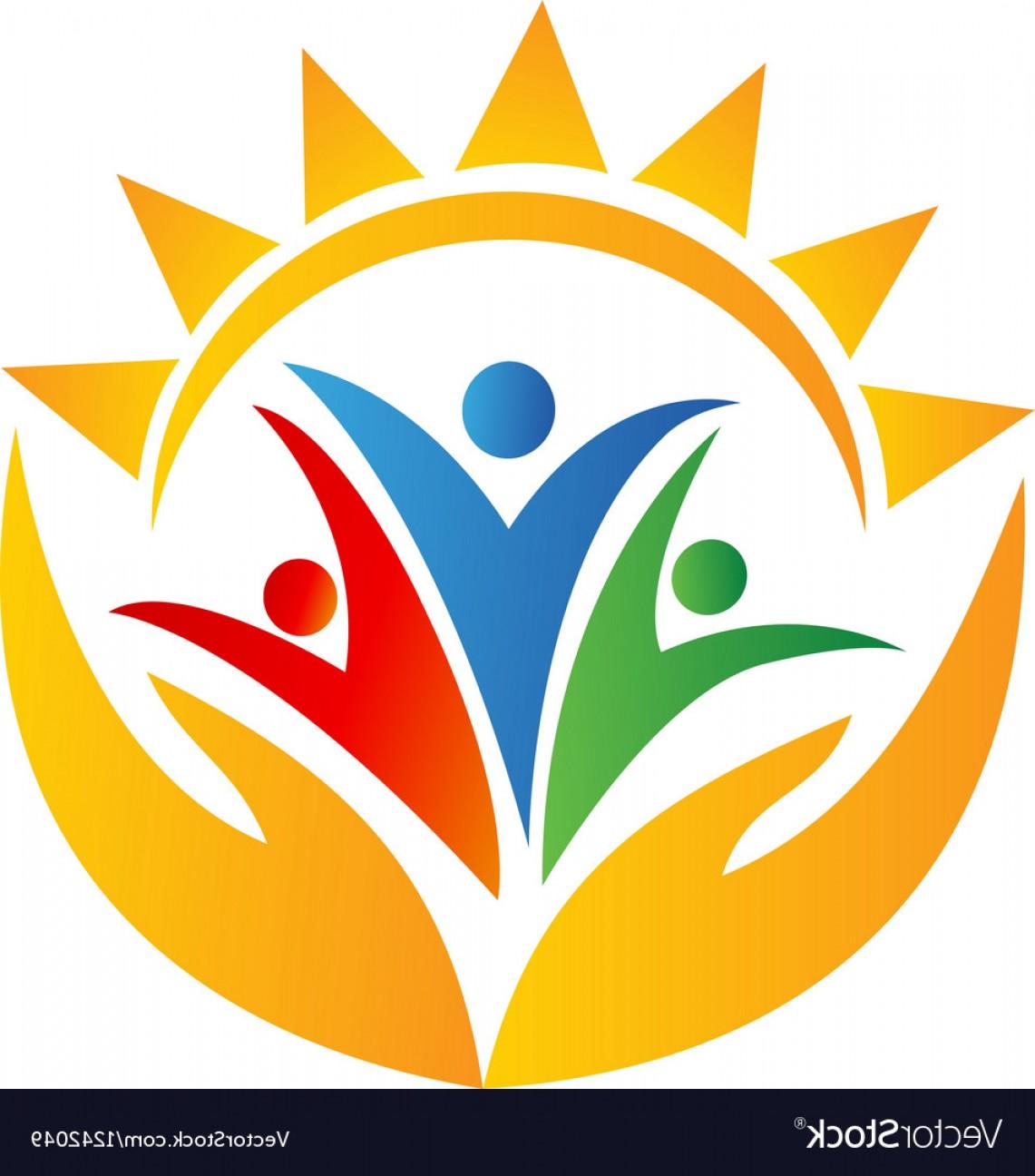 1141x1296 Teamwork People Hands And Sun Logo Vector Lazttweet