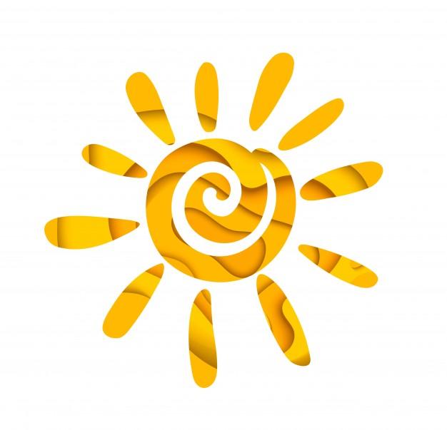 626x603 Abstract Summer Sun. Logo Design. Vector Premium Download
