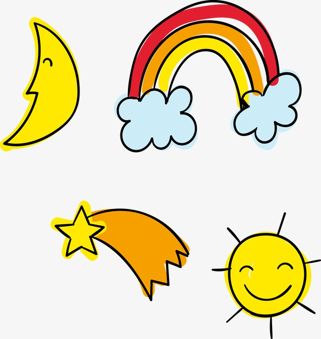 650x688 Sun, Moon And Stars Vector, Vector, Moon, Sun Png And Vector For