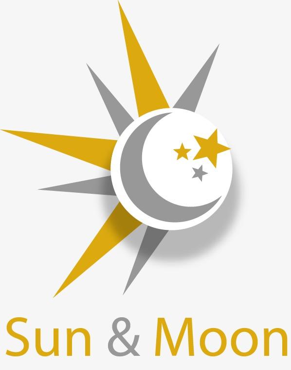 598x758 Painted White Sun Moon Star, Sun Vector, Moon Vector, Star Vector