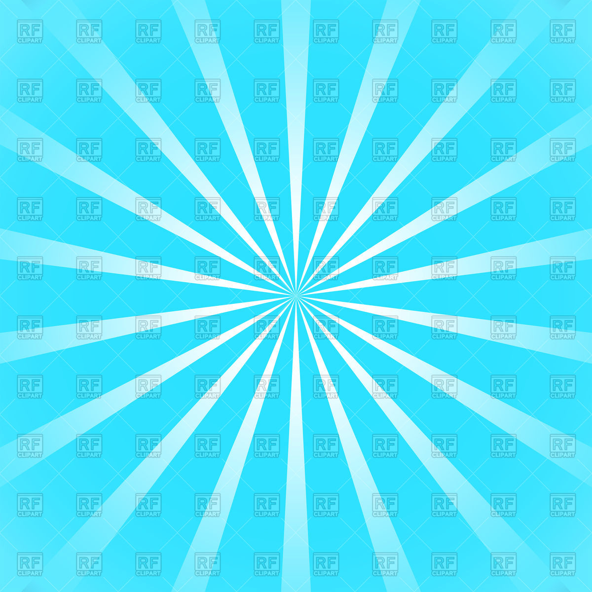1200x1200 Blue Background With Gradient Sun Rays Vector Image Vector