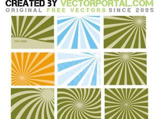 310x233 Retro Sun Rays Vector Free Vectors Ui Download
