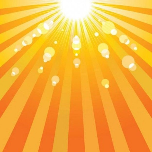 625x626 Sun Vector Free Bright Sun Rays On Striped Background Walking On