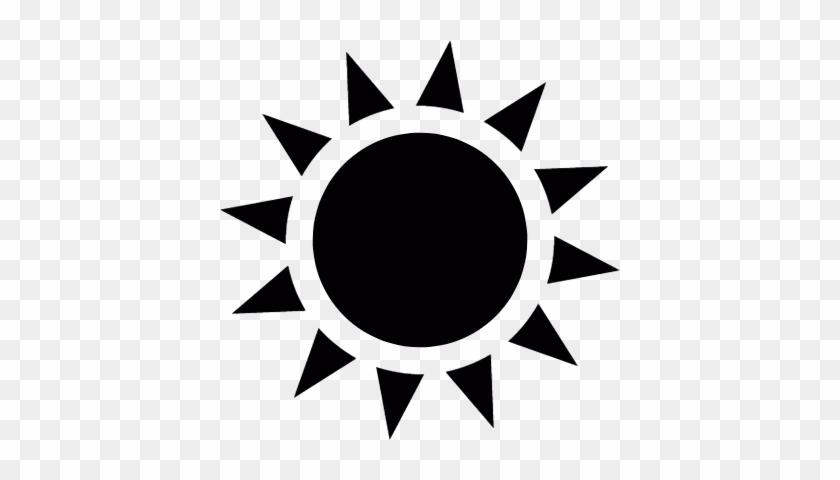 840x480 Sun With Sunrays Vector