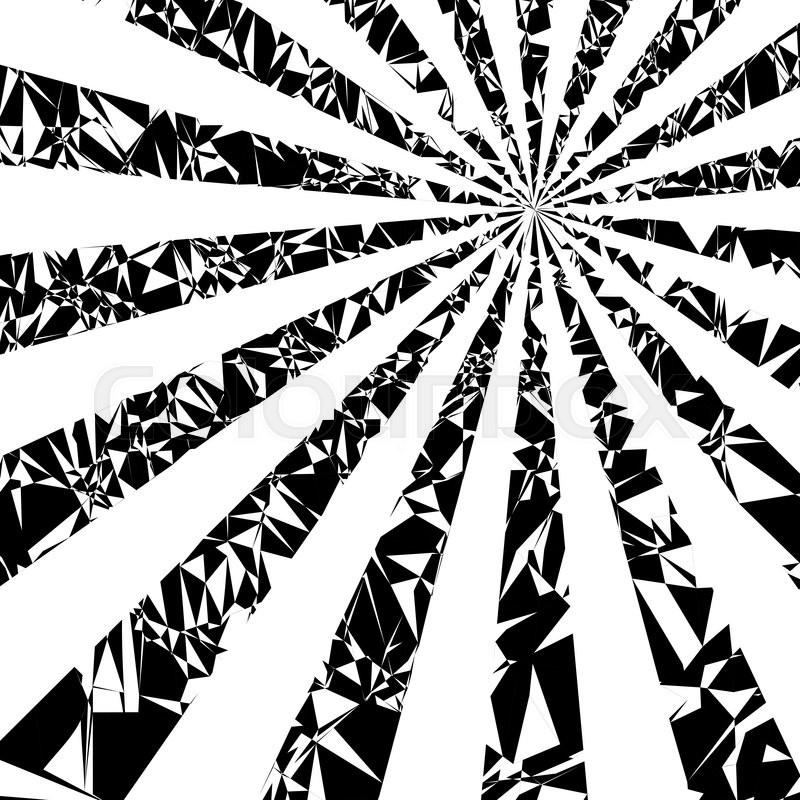 800x800 Sun Rays. Vector Grunge Background On White Stock Vector Colourbox