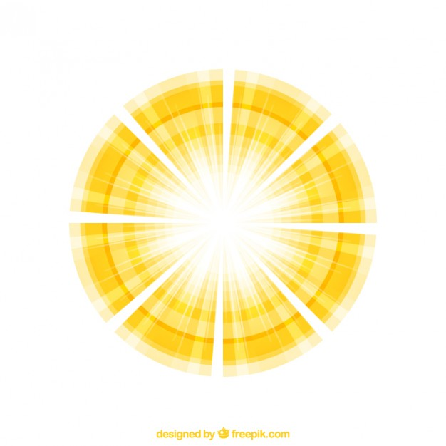 626x626 Abstract Sunshine Vector Free Download