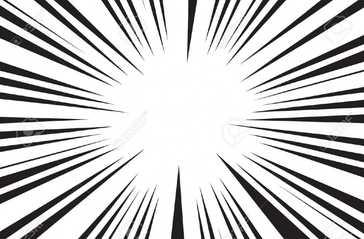 1261x829 Black And White Rays Vector Free