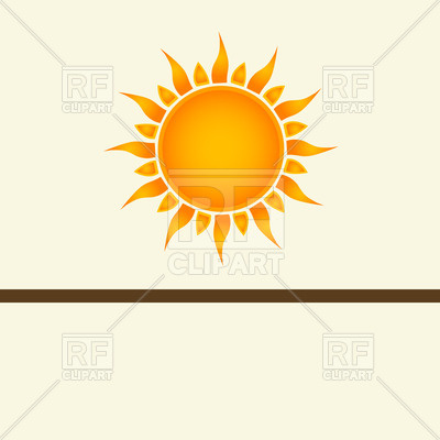 Sun Vector Art