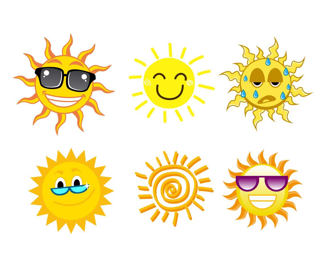 1136x936 Free Cartoon Sun Vector Vector Art Amp Graphics