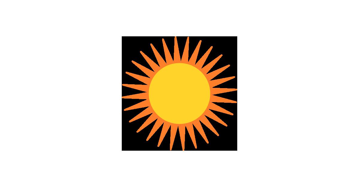 1200x628 Sun Vector Vector