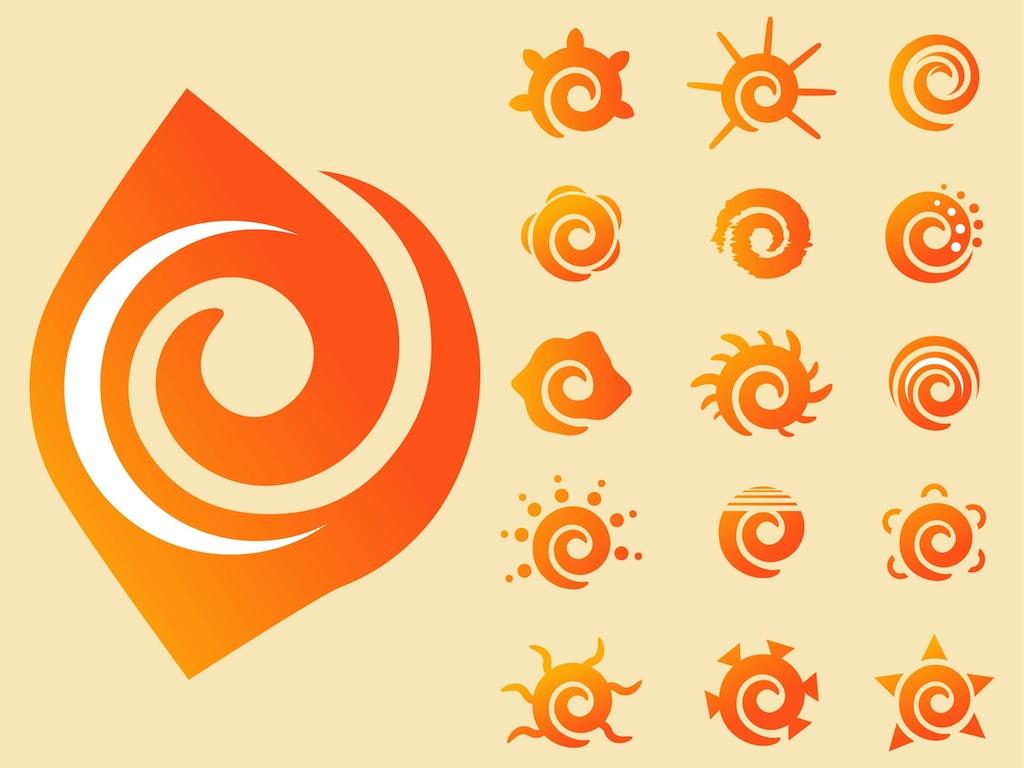 1024x768 Swirling Sun Vectors Vector Art Amp Graphics