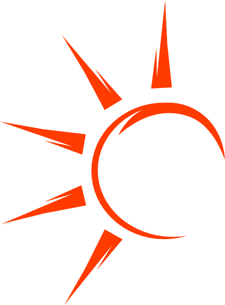 438x593 Collection Of Free Vector Sun Black And White. Download On Ubisafe