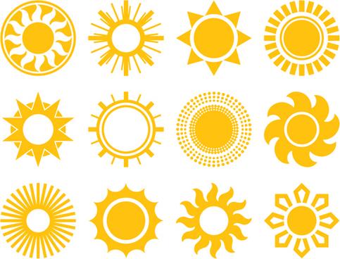 483x368 Drawn Sunshine Vector