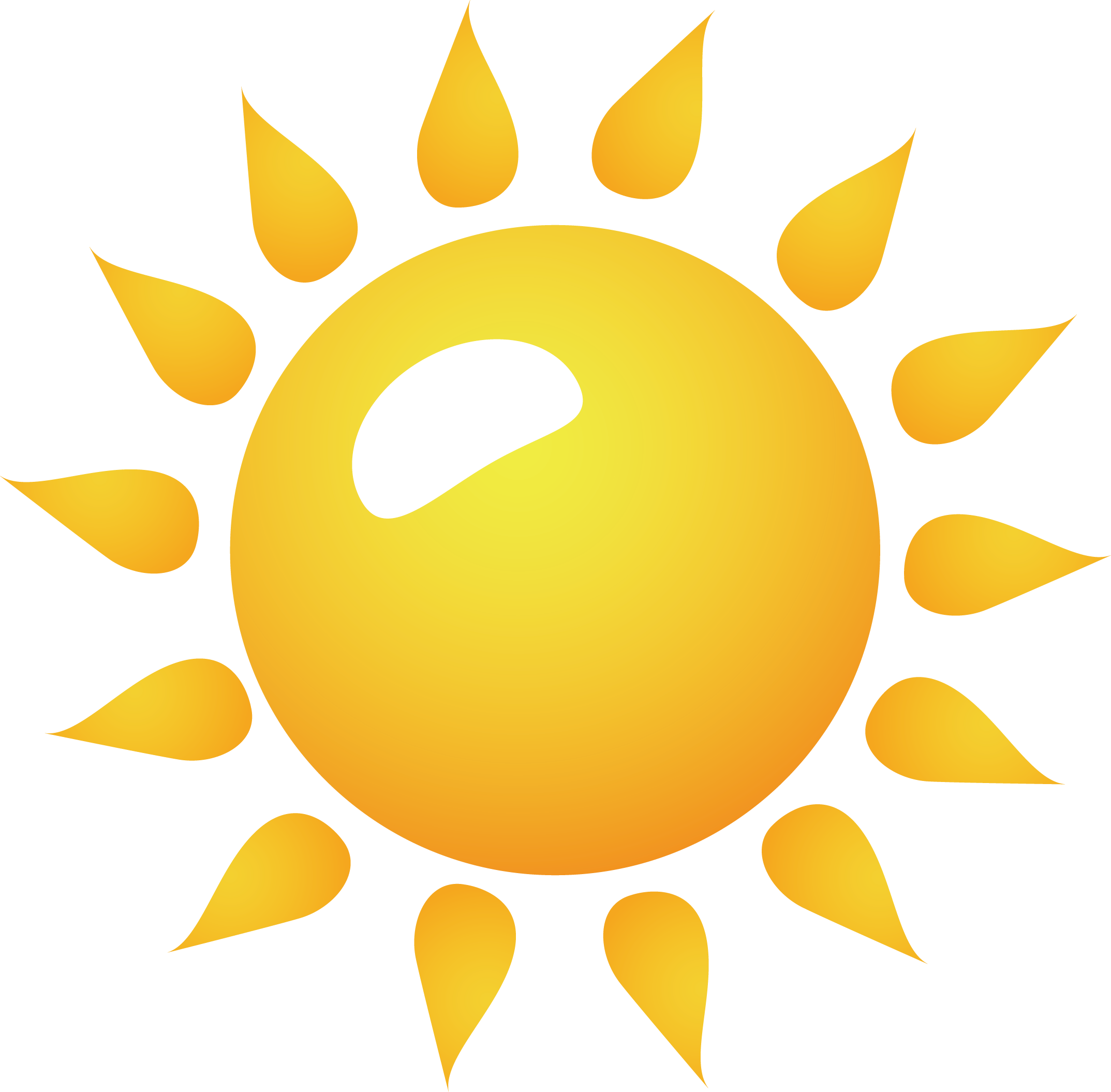 2147x2110 Free Sun Vector Clip Art Free Library