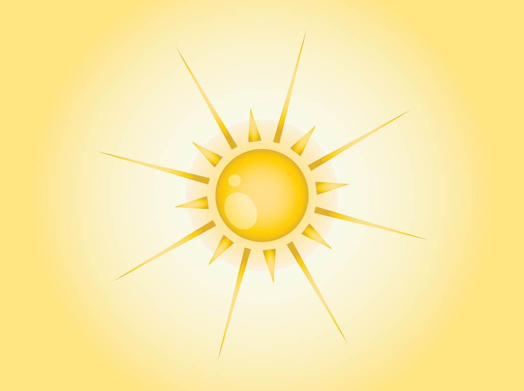 1024x765 Summer Sun Vector Vector Art Amp Graphics