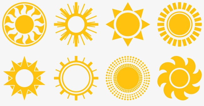 650x337 Cartoon Sun, Sun, Vector, Yellow Png And Psd File For Free Download