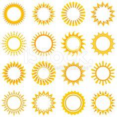 236x236 Summer Sun Wave Icon In Vector Format Sunshine