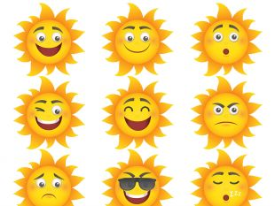 310x233 Cartoon Sun Vector Free Vectors Ui Download