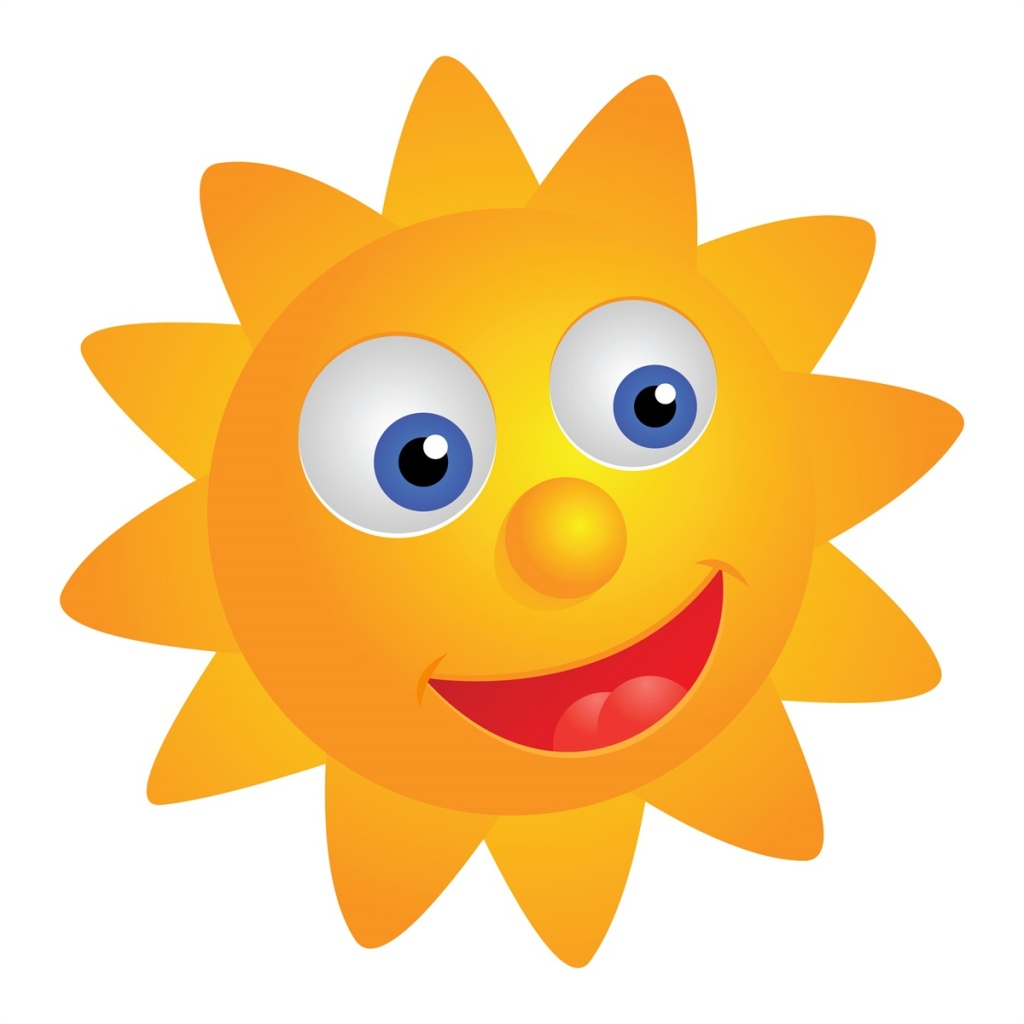 1024x1024 Lovely Smiling Face Sun Vector Free Download Eps Files