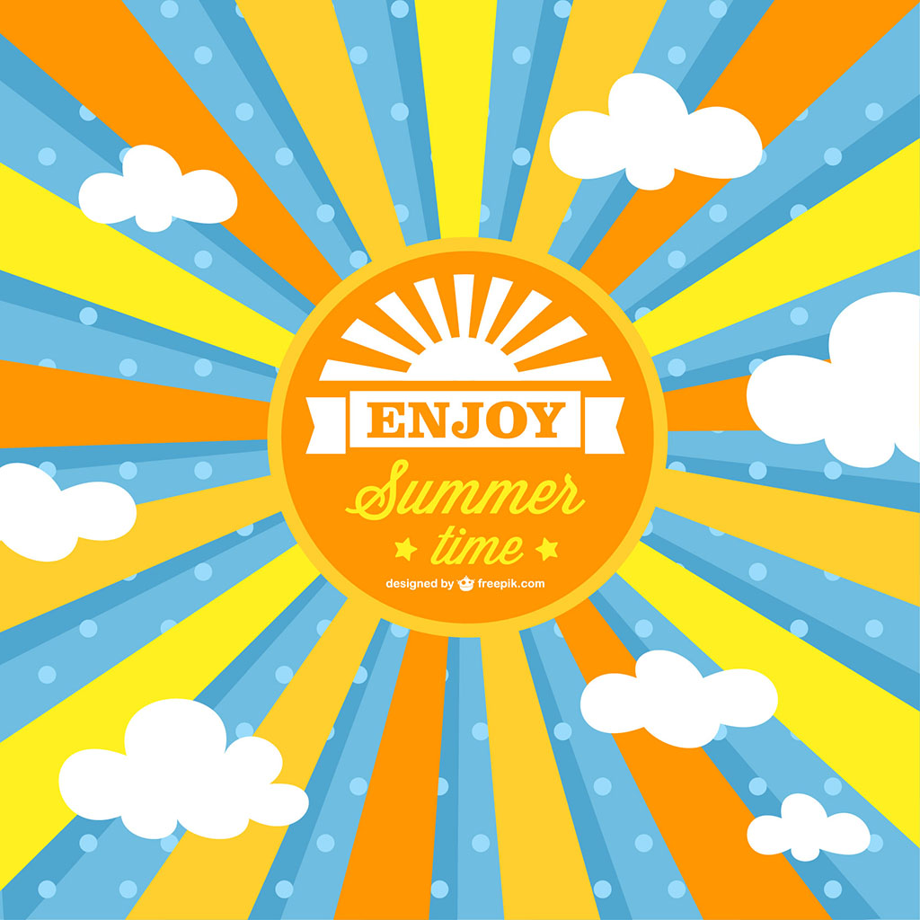 1024x1024 Summer Sun Vector Free Download Eps Files