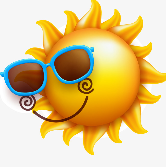 650x651 Sunglasses Smile Sun Vector Material, Sunglasses Vector, Smile